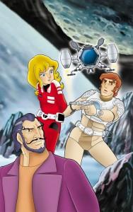 15 DVD copertina: Capitan FUTURO per ECHO